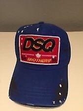 Blue Dsqaured cap