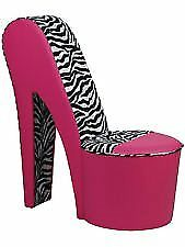 Pink Shoe Chair For Sale