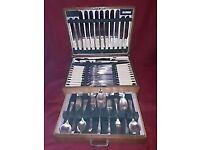 Vintage cutlery cantèen 90 piece boxed antique