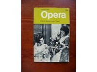 OPERA MAGAZINE - large collection from 1970s