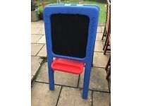 Kids Painting easel from Early learning centre, blue, cost £50,