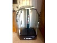 Confidence pro fitness vibration machine with straps