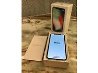 Apple iPhone X 256gb factory unlocked with receipts from Apple