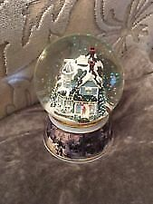 THOMAS KINKADE MUSICAL SNOW GLOBE new
