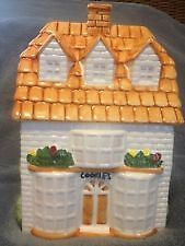 cottage cookie jar