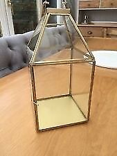 Brand new in boxes Gold and glass lanterns purchased from waitrose john lewis - 15 available