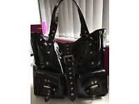 Mulberry Patent Roxanne bag