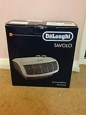 DeLonghi fan heaters, boxed & hardly used.