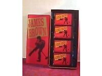 JAMES BROWN - STAR TIME - BOX SET - 4 CASSETTE EDITION - NEW AND SEALED