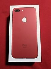 Brand new Iphone 7 plus Red 256gb - packaging not even opened