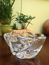 Small Orrefors Crystal Art Bowl