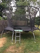 12 ft Trampoline with SurroundSafe (TP Genius 2 Octaganal)