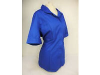 Alexandra Royal Blue Womens Healthcare/Medical/Nurses/Carer Tunic JF23 - Size 14