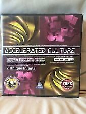 ACCELERATED CODE D&B parts 2 and 4 - 24 cassettes 2002