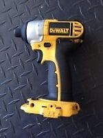Wanted: Dewalt 18v Impact Driver or Drill/Driver Combo