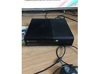 A Working Xbox 360 4gb with call of duty world at war game and one controller.