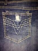 Plus Size Jean Skirt