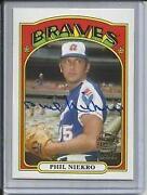 Phil Niekro Autograph