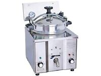 SOUTHERN FRIED OR PERI PERI CHICKEN FRYER AUTOMATIC PRESSURE FRYER 16L HEATER
