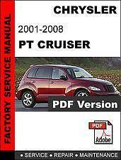 2007 chrysler pt cruiser owner's manual pdf (458 pages).