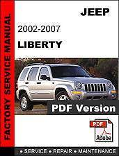 2003 jeep liberty 3.7 service manual
