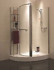 Shower Enclosure and Tray - Left hand, still in original packaging