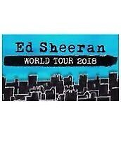 Ed Sheeran Concert-1X seated ticket- 11th March- Melbourne-World Tour