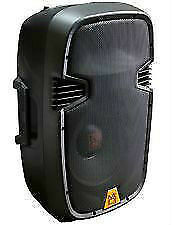 "15"" 1500W Active Powered Speaker w/ Bluetooth, EQ, USB, & SD MP3"