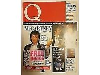 Q Rock Magazines , 212 consecutive issues