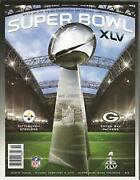 Super Bowl XLV Program