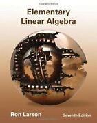 Elementary Linear Algebra Larson