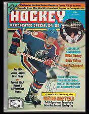 1984-85 &85-86Hockey Illistrated Magazine Gretzy covers