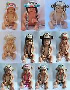 Baby Sock Monkey Hat