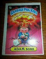 BOTH ADAM BOMB CHECKLIST AND CHEATERS LICENSE GARBAGE PAIL KIDS