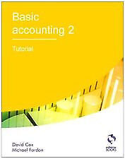 Basic Accounting 2 (David Cox) Excellent condition (Practically new)