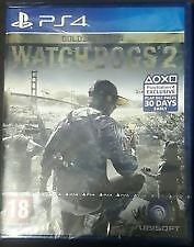 Brand New Shrink Wrapped Watch Dogs 2, Gold Edition, PS4, Hacking, Cracking, Open World, Driving