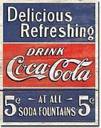 Vintage Coca Cola Sign