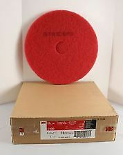 3M™ Red Floor Buffer Pads 5100, 18 inch