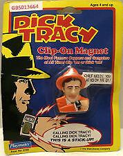 Vtg 1990 Dick Tracy Clip On Magnet Badge Sam Catchem Edmonton Edmonton Area image 1