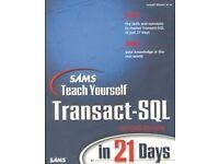 Sams Teach Yourself Transact-SQL in 21 Days by David S. Solomon 9780672319679