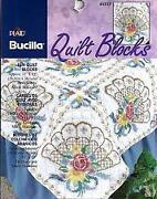 Stamped Cross Stitch Quilt Blocks