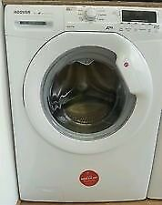 34 Hoover DYN8144D 8kg 1400 Spin White LCD A+ Rated Washing Machine 1 YEAR GUARANTEE FREE DEL N FIT