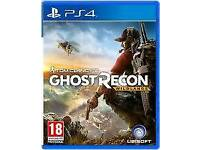 PlayStation 4 ghost recon wild land's for swops