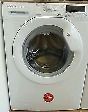 Hoover DYN8124D 8kg 1200Spin White LCD A+ Rated Washing Machine 1 YEAR GUARANTEE FREE FITTING