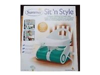 Brand new boxed - Space saver - fold able booster seat