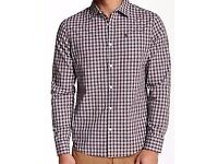 Penguin Heritage Slim Fit Check Shirt - Worn once - Size Medium