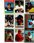 Topps Baseball Card Lots