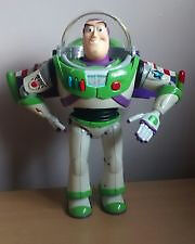 talking buzz lightyear 1 ft high ish fully working and in good condition