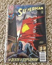Superman Comic Book - The Death of Superman