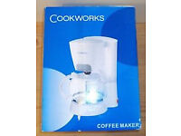Brand new Cookworks coffee machine in very good condition only £15